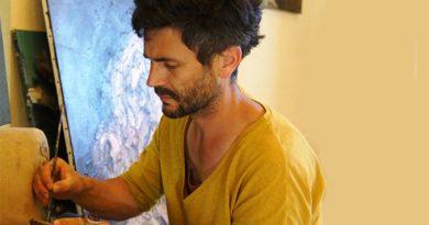 Nicolas Favre portrait d'un artiste